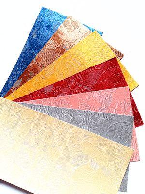 特种纸中的压纹纸印刷时注意什么